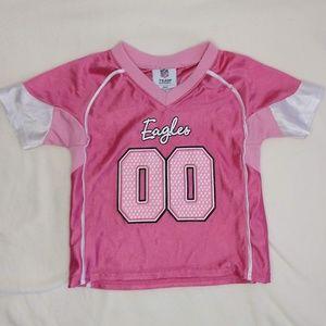 Official NFL Kids 2T Eagles jersey
